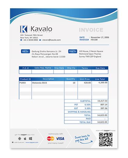 Sales receipt template excel